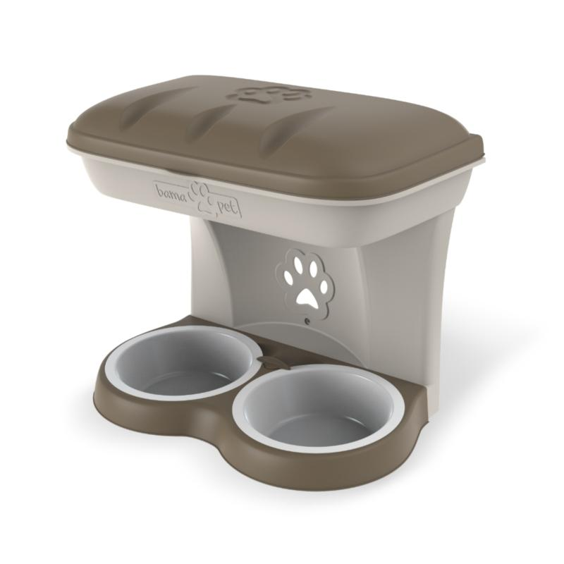 BOWLS FOR DOGS TO BE HUNG ON WALL FOOD STAND & FOOD STAND MAXI
