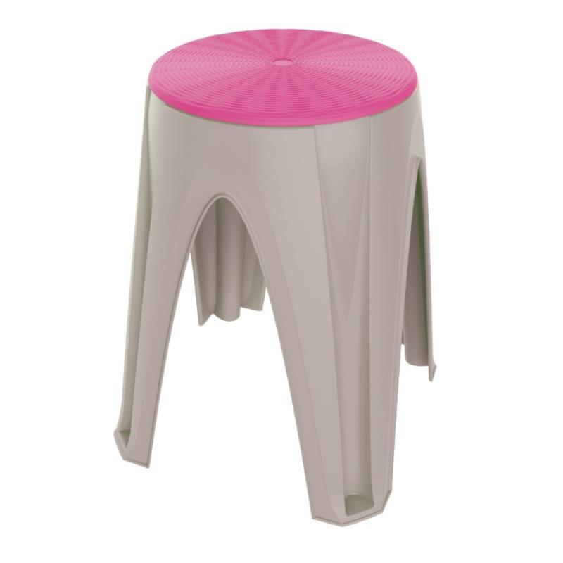 PLASTIC STOOL GIROTONDO