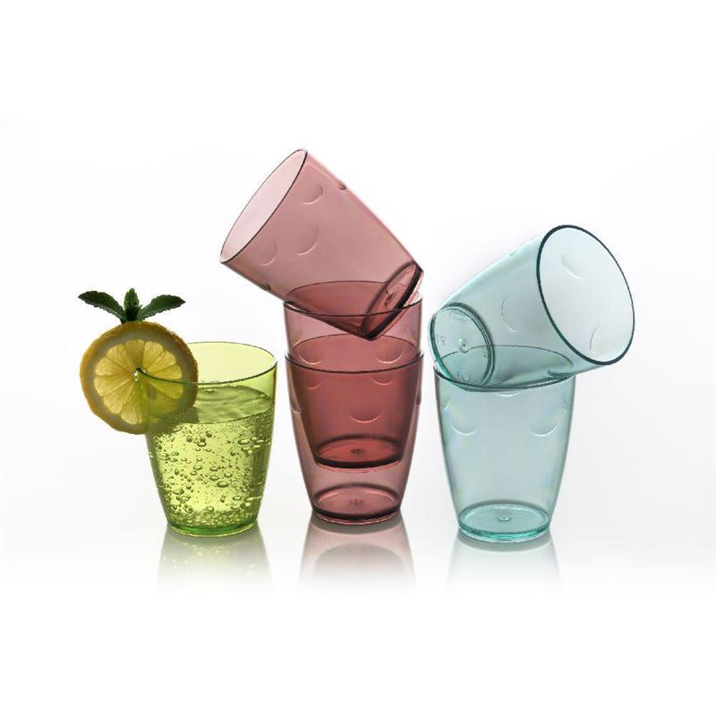 KRISTAL GLASS SET 8X280CC