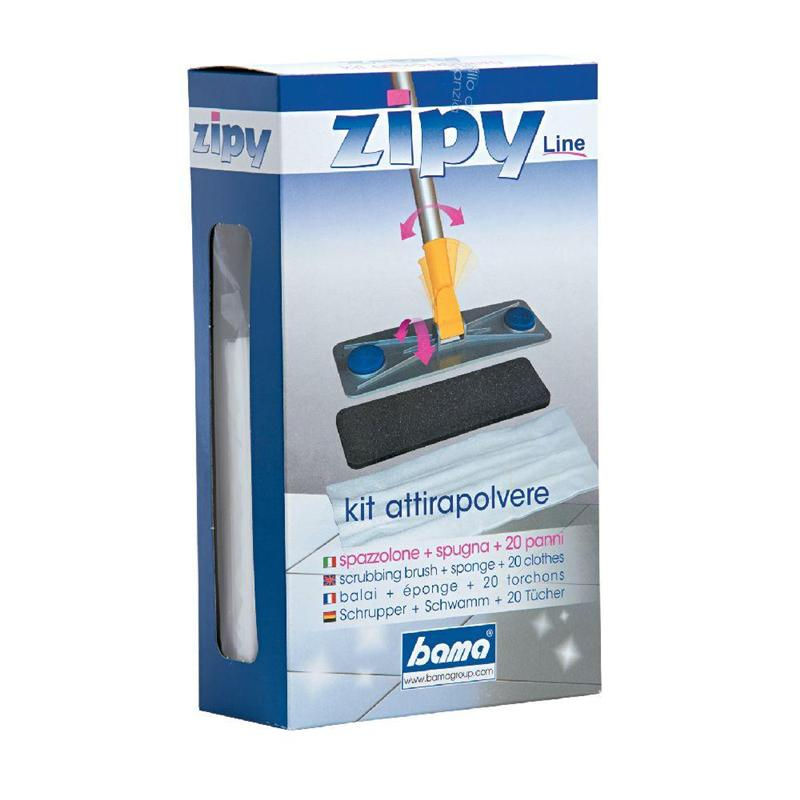 ZIPY KIT ATTRACTS DUST