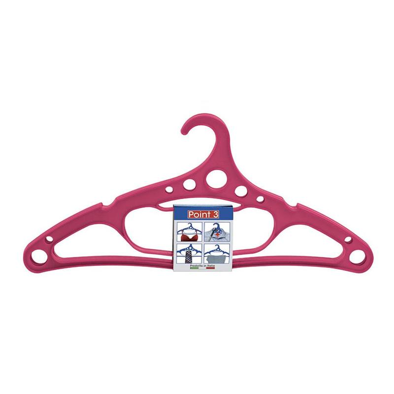 POINT CLOTHES HANGER SET 3 PCS