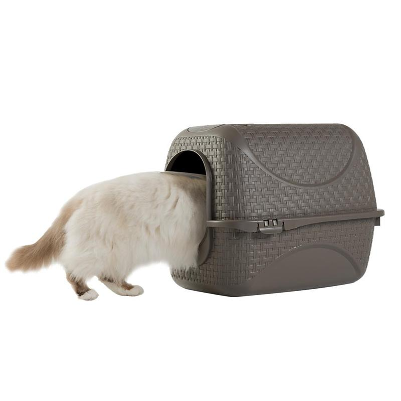 Closed litter box for cats  PRIVE'