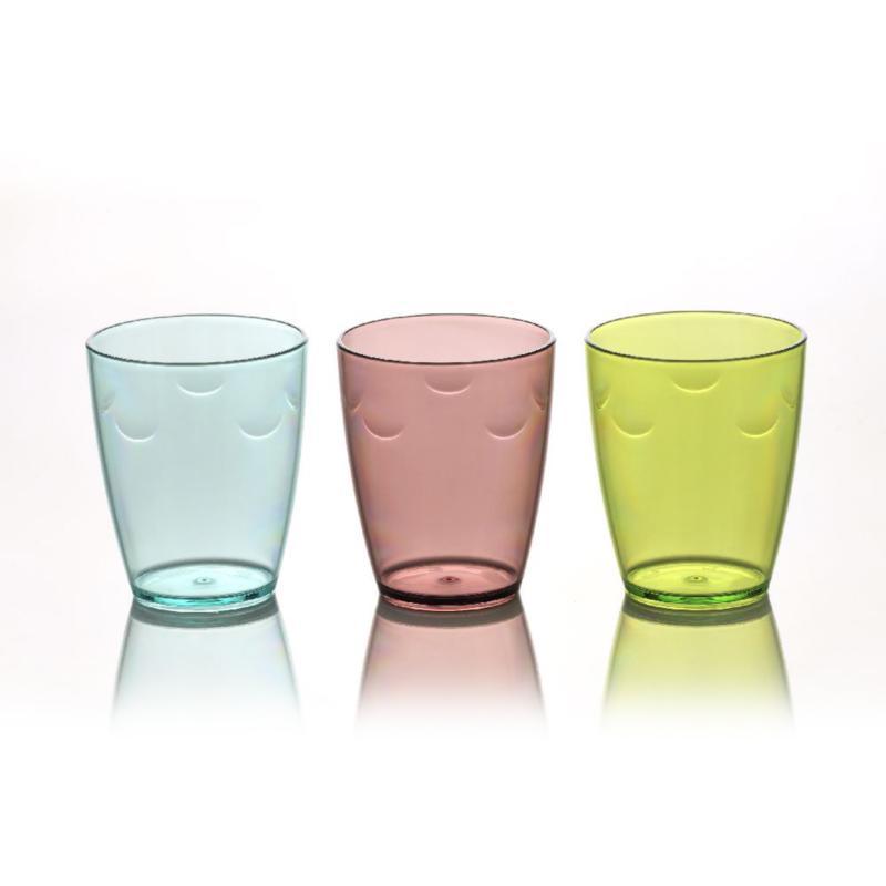 KRISTAL GLASS SET 8X280CC