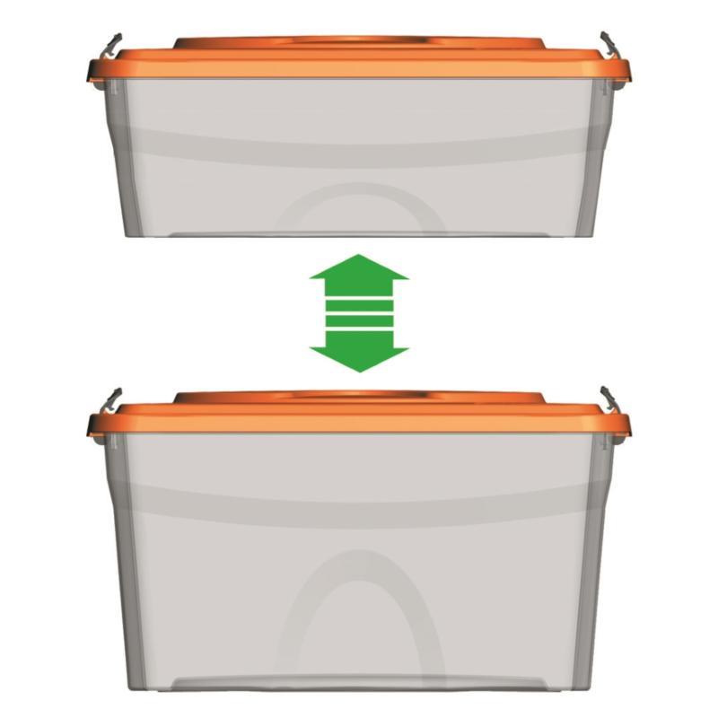 CONTENITORE PLASTICA SIM BOX LT. 18