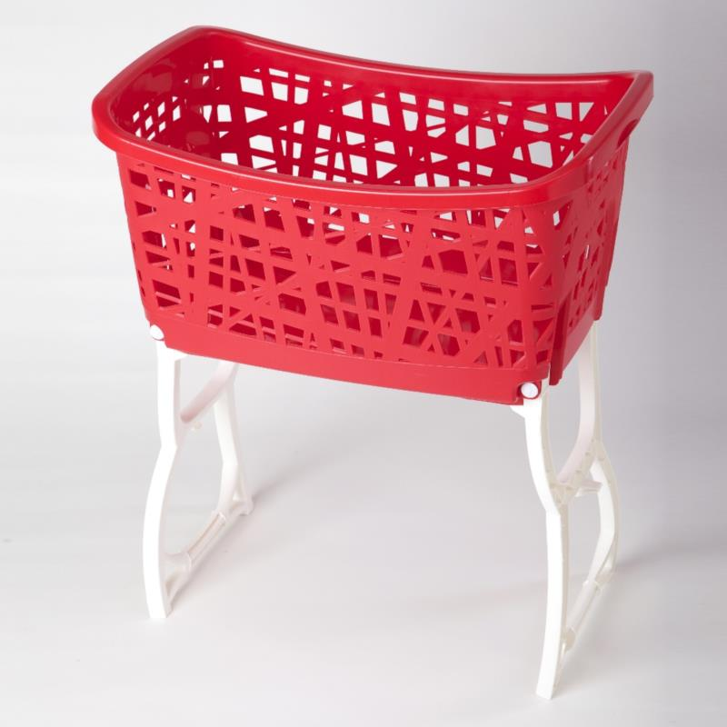 STAND UP LAUNDRY BASKET WITH LEGS