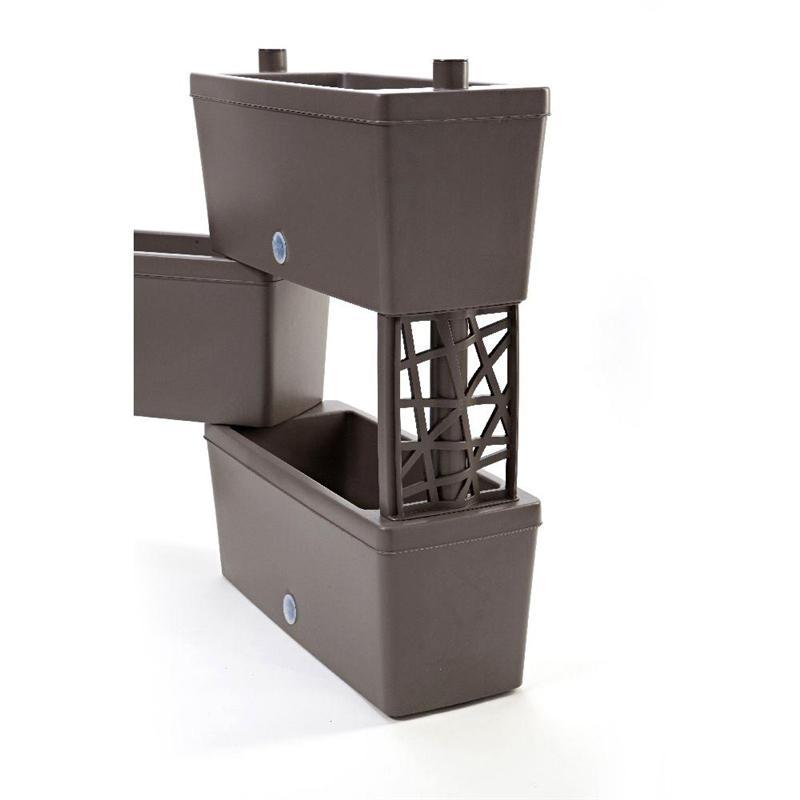BRICK - kit 5 modular planters