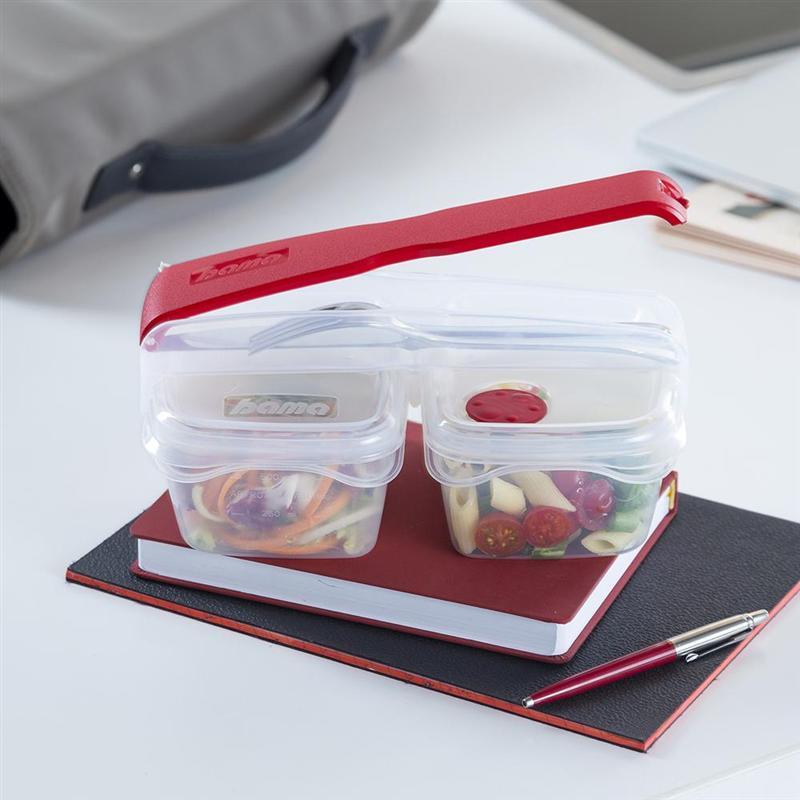 BREAK doppio contenitore con portaposate