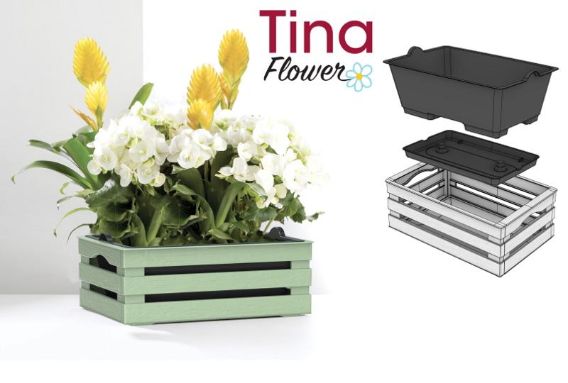 TINA FLOWER BOX
